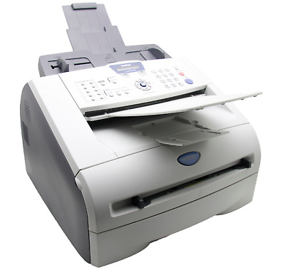 100% Working Fax Copier Printer Brother Fax-2820 New Toner And Trommel!