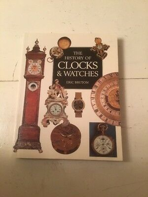 Pre-owned Book The History Of Clocks & Watches By Eric Bruton 2002