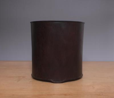 Rare Old Chinese Handmade Rosewood Brush Pot
