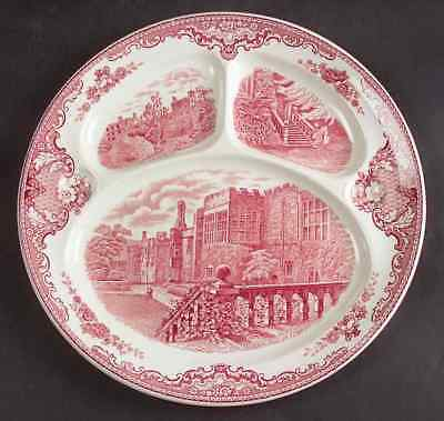 Johnson Brothers OLD BRITAIN CASTLES PINK (MADE IN ENGLAND) Grill Plate 833076