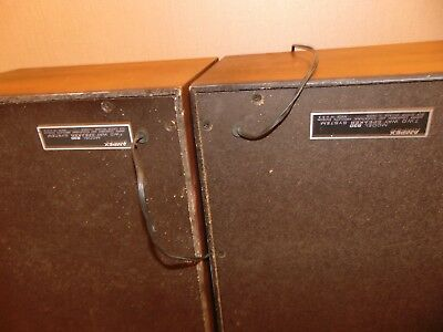 AMPEX  Model 830 VINTAGE pair speakers