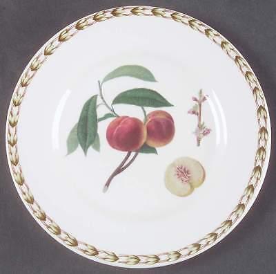 Rosina Queens HOOKER'S FRUIT (BONE-INDIA) Peach Bread & Butter Plate 6221943