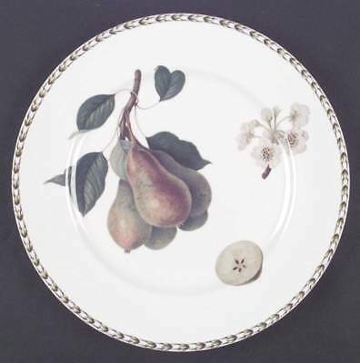 Rosina Queens HOOKER'S FRUIT (BONE, INDIA) Pear Dinner Plate S6221962G3