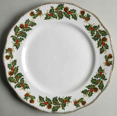 Rosina Queens YULETIDE (SCALLOPED) Eros Dinner Plate S5450842G2