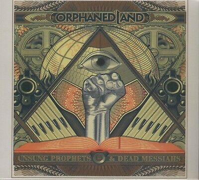 Unsung Prophets and Dead Messiahs ORPHANED LAND 2 CD SET