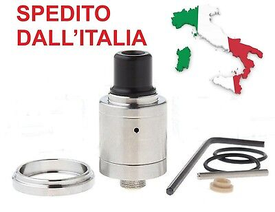 At4 - Atomizzatore Speed Revolution Styled Rda18Mm - Pin Forato-  Clone Nuovo