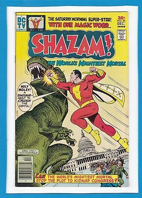 Shazam #26_December 1976_Fine+_The World's Mightiest Mortal_Bronze Age Dc!