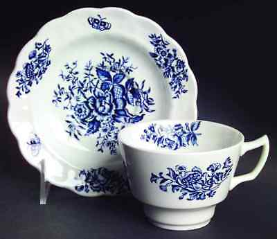 Booths PEONY BLUE Cup & Saucer 7267748