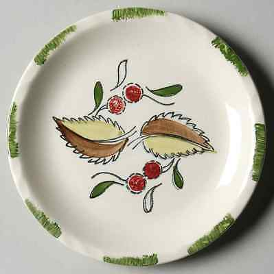 Blue Ridge Southern Pottery WILD CHERRY 3 Bread & Butter Plate 40770