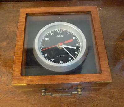 fancy boxed table clock
