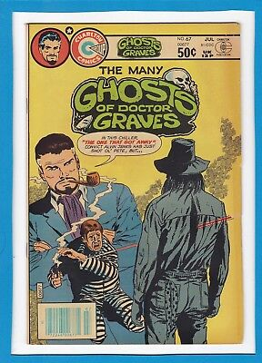 The Many Ghosts Of Doctor Graves #67_July 1981_F/vf_Bronze Age Charlton Horror!
