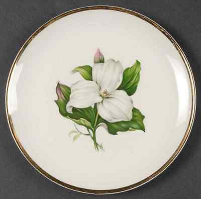 American Limoges TRILLIUM WHITE (GLAMOUR) Bread & Butter Plate 318702