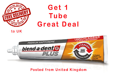 Secure Denture adhesive Blend A Dent Strong 40g increased full or partial fix it