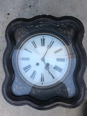 Antique French Napoleon III Wall Clock 1880 ?