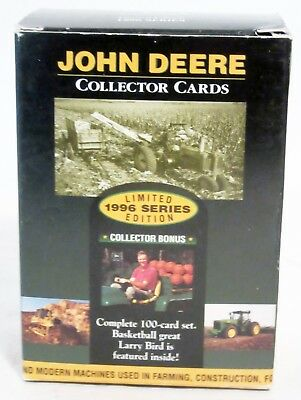 Set Of 100 ~ 1996 John Deere Collector Cards ~ Set Iii In A Set Of Three