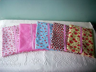 Handmade Baby Wet Wipes Travel Case Holder Rose & Hubble Oilcloth