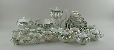 Huge 35pc Lot of Antique RS Prussia DOGWOOD Fine China Rare Pieces Plates Coffee