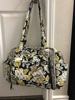 NWT Vera Bradley Retired Dogwood Print Diaper Bag