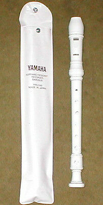 Yamaha Soprano/Descant Recorder. Baroque. YRS-24B. Case included, instructions