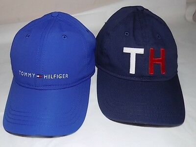 Nwt Womens Lot Of 2 Tommy Hilfiger Baseball Caps/hats~Os