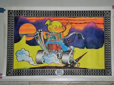 vintage Character DENNIS the MENACE HIGHWAY CHILD attitude POSTER