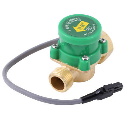 1x Pump Water Flow Pressure Control Switch G3/4 Female to G1/2 Male Thread new