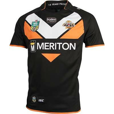 Wests Tigers NRL Home ISC Jersey Sizes 4XL & 5XL ONLY! BNWT's! 5