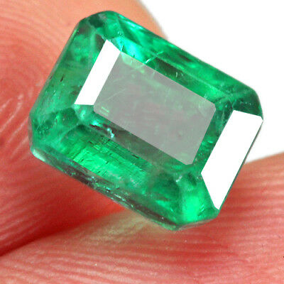 1.8CT Grade Green Emerald 100% Natural Collection Retail Price $1000 UQMD99