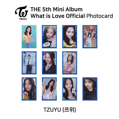 TWICE 5th mini album : What is love Official Photocard - TZUYU