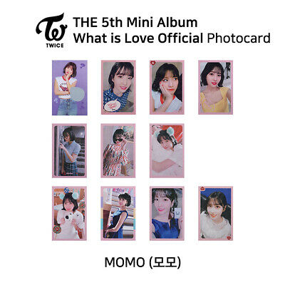 TWICE 5th mini album : What is love Official Photocard - Momo