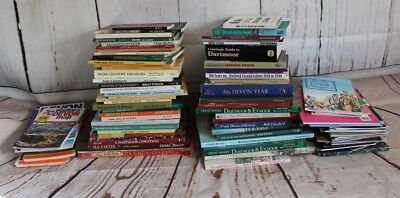Job Lot 100's Devon/Exeter/Dartmoor Local Interest Books + OS Maps (Hospiscare)