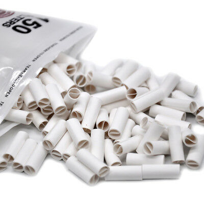150 X Hornet Per Rolled Tips Natural Prerolled For Cigarette Rolling Paper 6MM