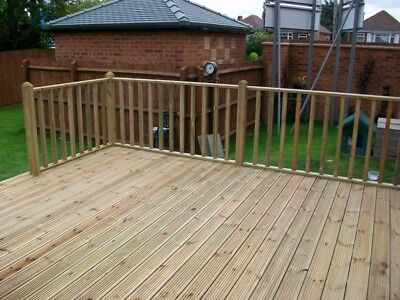 Large Decking Boards Finished size 4.8m x  32mm x 142mm