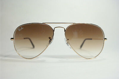 Ray Ban RB 3025 Aviator Large Metal 001/51 2N 55[]14 Sonnenbrille Sunglasses NEU