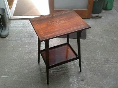 Edwardian Inlaid Occasional / Side Table