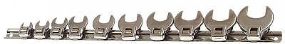 "Franklin 10 pce Crowfoot Wrench Set 3/8"" TA701 10-24mm"