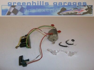 Greenhills Scalextric Jaguar XJR8/9 Engine, Lighting and Guide Blade - Used -...
