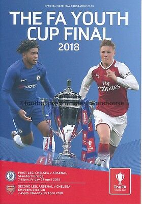 FA YOUTH CUP FINAL 2018 Chelsea v Arsenal - BOTH LEGS