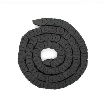 Black Nylon Energy Chain Drag Cable Towline Carrier Wire For 3D Printer