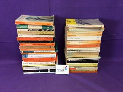 Job Lot of 40 Penguin Books, Various Conditions