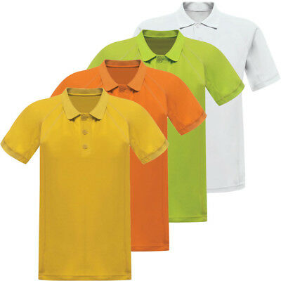 Regatta Mens Coolweave Moisture Wicking Quick Dry Polyester Polo Shirt