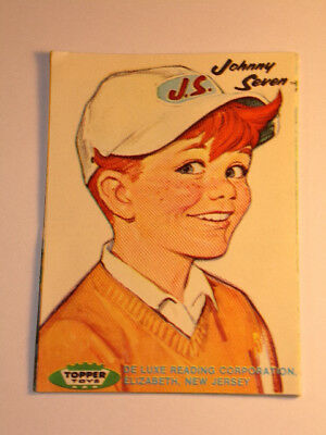 Johnny Seven & Penny Brite Topper Toys 1964 Foldout Catalog Brochure 54years old
