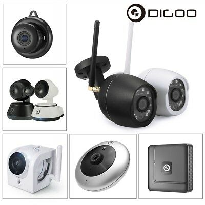 Digoo Smart WiFi Wireless IP Camera Baby Monitor Night Vision Motion Detection
