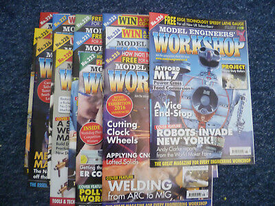 13 issues of Model Engineers Workshop  all of 2015