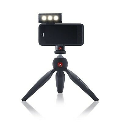 Manfrotto KLYP iPhone 4/4S Case with ML120 LED Light and POCKET Tripod New
