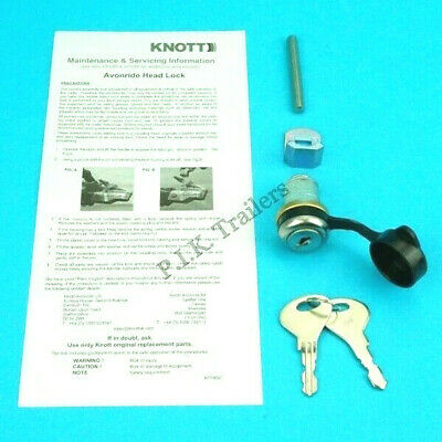Security Hitch Lock for Knott Avonride Cast Couplings - Ifor Williams Trailer