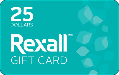 Rexall Gift Card - $25 Mail Delivery