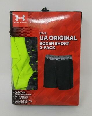Under Armour Boys Boxer Short 2 Pack YXL US