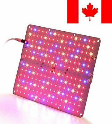 LED Grow Light, Aceple 25W Indoor Growing Ultra-thin Panel Plant Light with S...