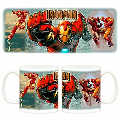 Taza Iron Man banda
